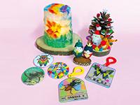 昆虫クラフト体験