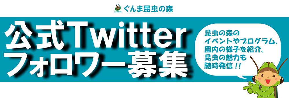 公式Twitterフォロワー募集